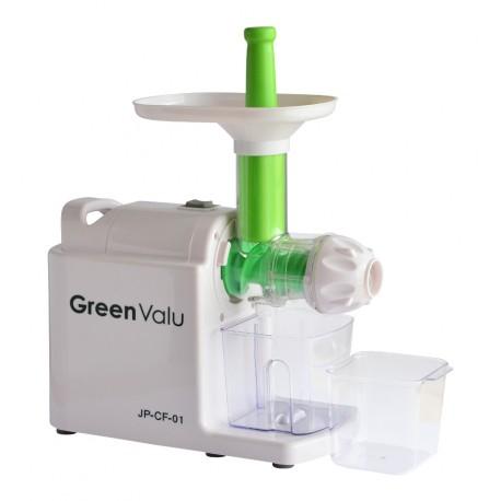 Extractor de zumos de prensado en frío y baja velocidad GreenValu