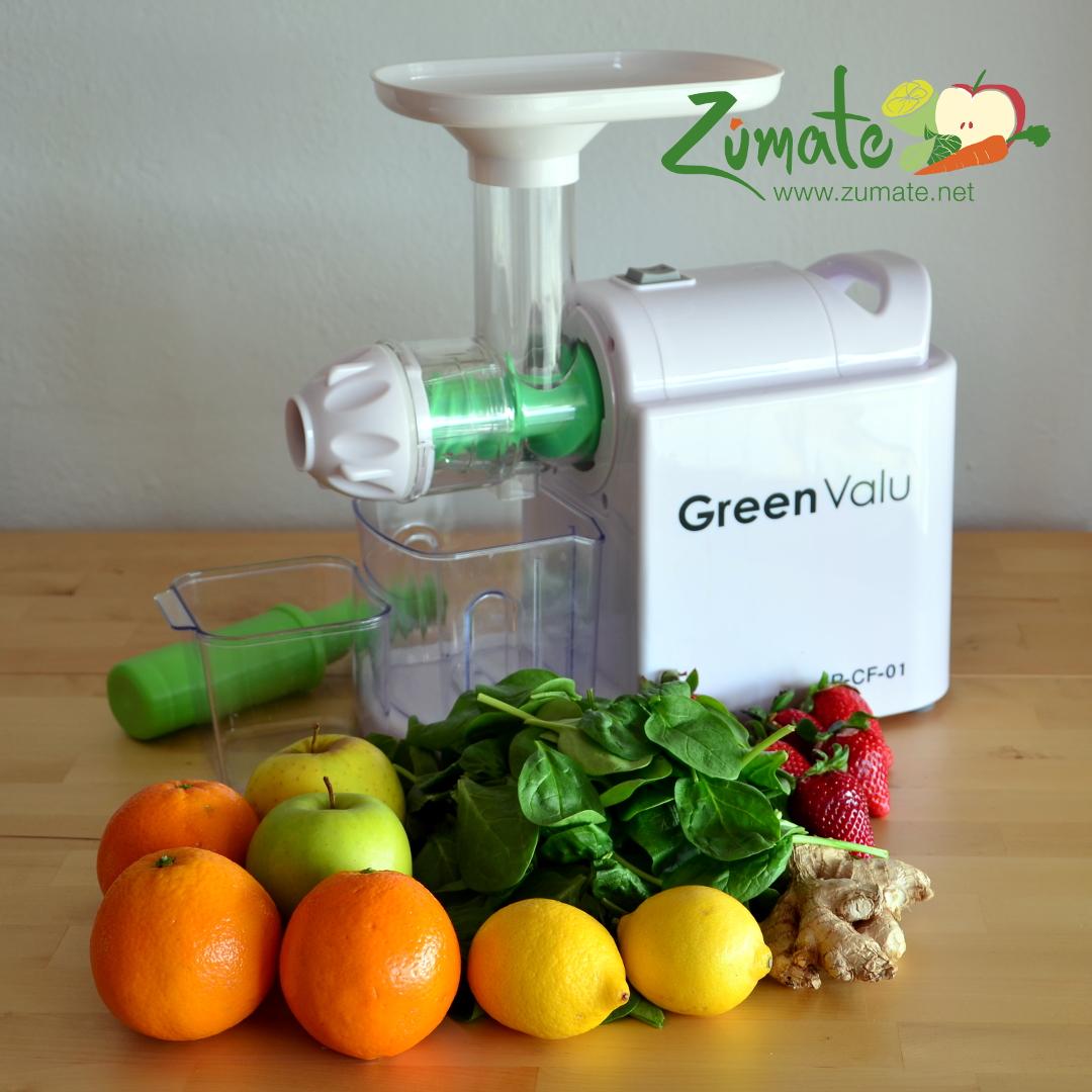 recetas de zumo con el extracto greenvalu
